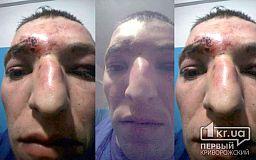 В Кривом Роге полицейский избил мужчину, - свидетели событий