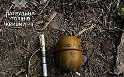 В Кривом Роге возле железной дороги нашли гранату