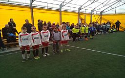 Криворізькі учні взяли участь у турнірі з міні-футболу