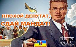 Депутатов горсовета, избранных от БЮТ и РПЛ, криворожане хотят лишить мандатов