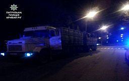 Криворізькі поліцейські затримали водіїв з підробними документами та металобрухтом