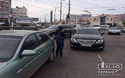 Hyundai и Lexus столкнулись на 95 квартале Кривого Рога