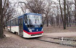 В Кривом Роге новый трамвай сошел с рельс ,- свидетели события