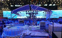Главная сцена конкурса песни «Евровидение 2017» будет весить 30 тонн