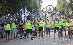 Велосипедисти Кривого Рогу допомагають землячці перемогти рак