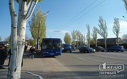 В Кривом Роге ДТП с приусом полицейских, маршруткой и автобусом. Комментарий патрульных
