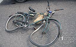 У Кривому Розі автівка наїхала на велосипедиста