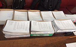 42 тысячи подписей горожан по отзыву депутатов-предателей передали в ТВК Кривого Рога