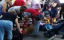 Незаконним торгівцям вказали, де потрібно торгувати в Кривому Розі