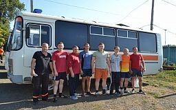 Горноспасатели Кривого Рога сыграли в мини-футбол