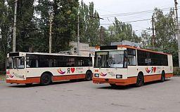 Плюс два. В Кривом Роге на линию вышли 2 отремонтированных троллейбуса