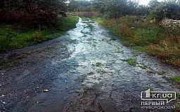 Чья территория? Жителей поселка в Кривом Роге 2 недели заливает водой