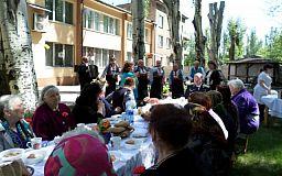 Мешканці Довгинцівського району Кривого Рогу святкують День Перемоги
