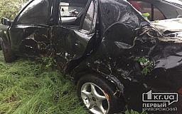 На объездной дороге в Кривом Роге машина вылетела в кювет