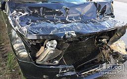 В Кривом Роге выпивший водитель внедорожника влетел в ГАЗель