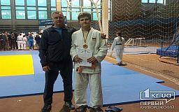 Криворожанин занял 3 место на Чемпионате Украины по дзюдо