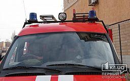Криворізькі пожежні загасили палаючу автівку