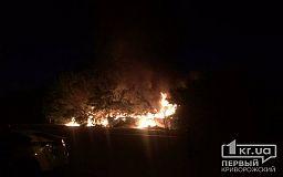 В Кривом Роге горит жилой дом. Информации о пострадавших нет