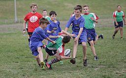 Криворожские дети будут бороться за звание чемпиона Украины по регби