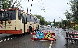 В Кривом Роге ремонтируют мост на Днепршоссе