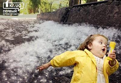 Тополиный пух, жара, аллергия