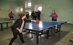 В Терновском районе состоялся рождественский турнир по настольному теннису