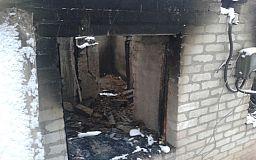 В Криворожском районе во время пожара погиб мужчина