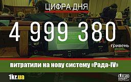 5 мільйонів гривень за нову систему «Рада-ІV» для депутатів у Кривому Розі