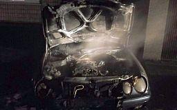 На прошлой неделе в Кривом Роге сгорели семь автомобилей