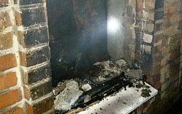 В Кривом Роге во время пожара сгорел пенсионер