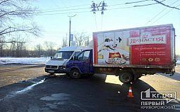 Столкнулись грузовики. ДТП в Кривом Роге (ОБНОВЛЕНО)