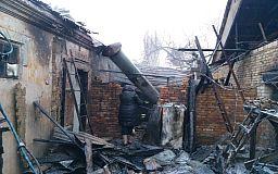 У Кривому Розі під час пожежі обгорів пенсіонер