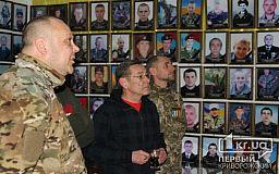 Народный артист Украины Алексей Горбунов пообщался с бойцами-криворожанами