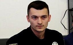 В Кривом Роге представили нового 23-летнего начальника патрульной полиции