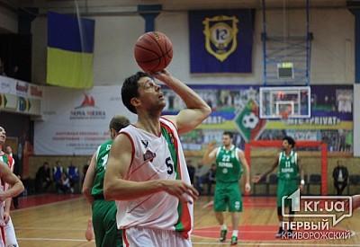 «Кривбасс» снялся срозыгрыша баскетбольной Суперлиги