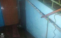 Криворожане, живущие в аварийном доме на ЮГОКе, в безопасности