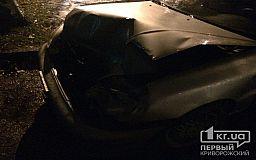 В Кривом Роге выпивший участковый на Daewoo въехал в легковушку с беременной девушкой