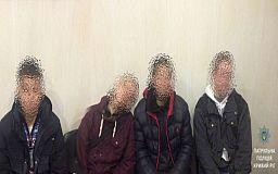 Четверых криворожан с «бульбулятором» задержали в подъезде
