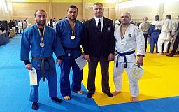 Криворожане одержали победу на Всеукраинских играх ветеранов по дзюдо