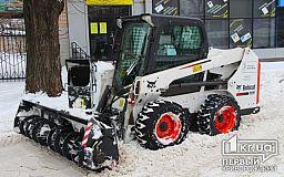Коммунальщики Кривого Рога готовы к снегопадам и гололедам