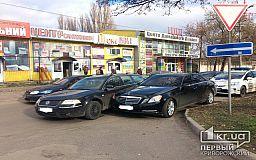 Авто на литовских номерах спровоцировало ДТП в Кривом Роге
