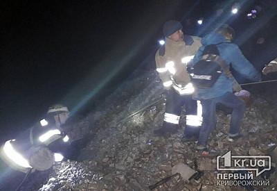 НаДнепропетровщине трое детей едва незамерзли в40-метровом карьере