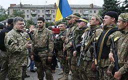 Порошенко рассказал, сколько украинцев мобилизуют