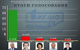 Обработано 100% протоколов. Результаты внеочередных выборов мэра Кривого Рога