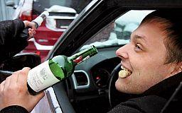 За нетрезвый вид за рулем водителям придется выложить до 40 тысяч гривен