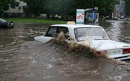 Водителям следует быть осторожными в дождливую погоду