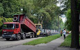 Благоустроенный Кривой Рог: В нескольких районах города ремонтируют дорогу и наносят разметку