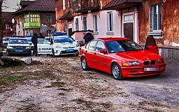 В Кривом Роге полиция устроила погоню за BMW