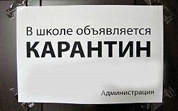 На карантин в Днепропетровской области закрыли 42 школы. В Кривом Роге эпидемии нет