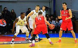 Баскетбольный клуб «Кривбасс» проиграл «Кремню»